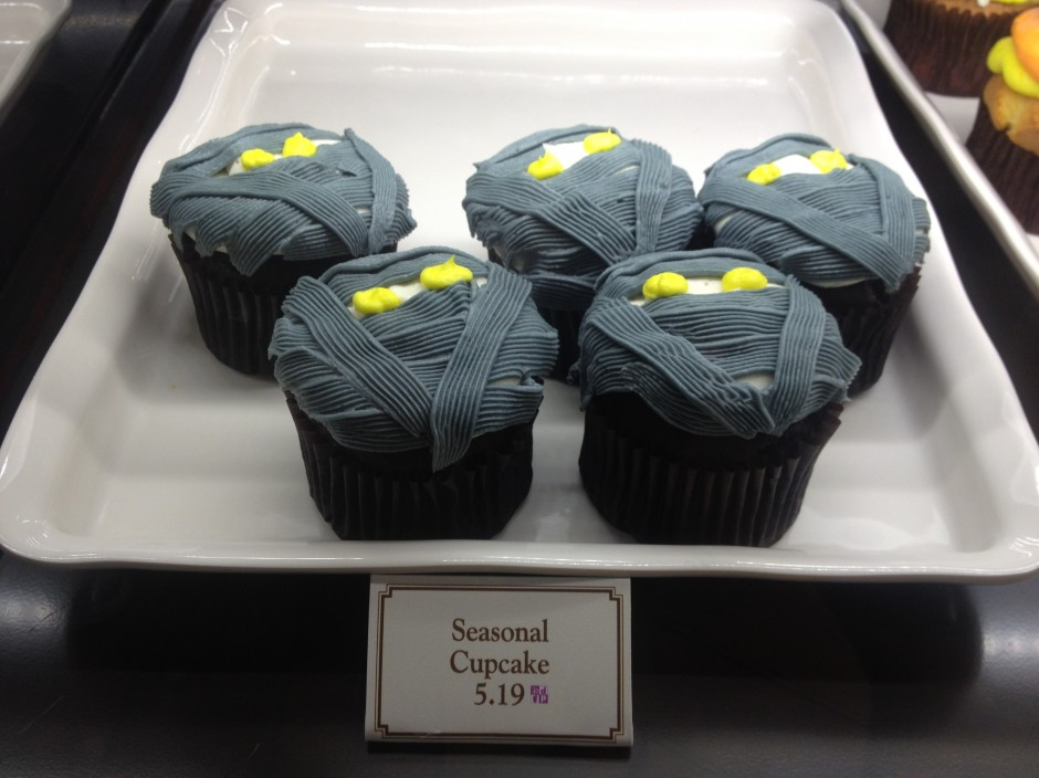 2013 Mickey's not so scary halloween party magic kingdom mummy cupcake