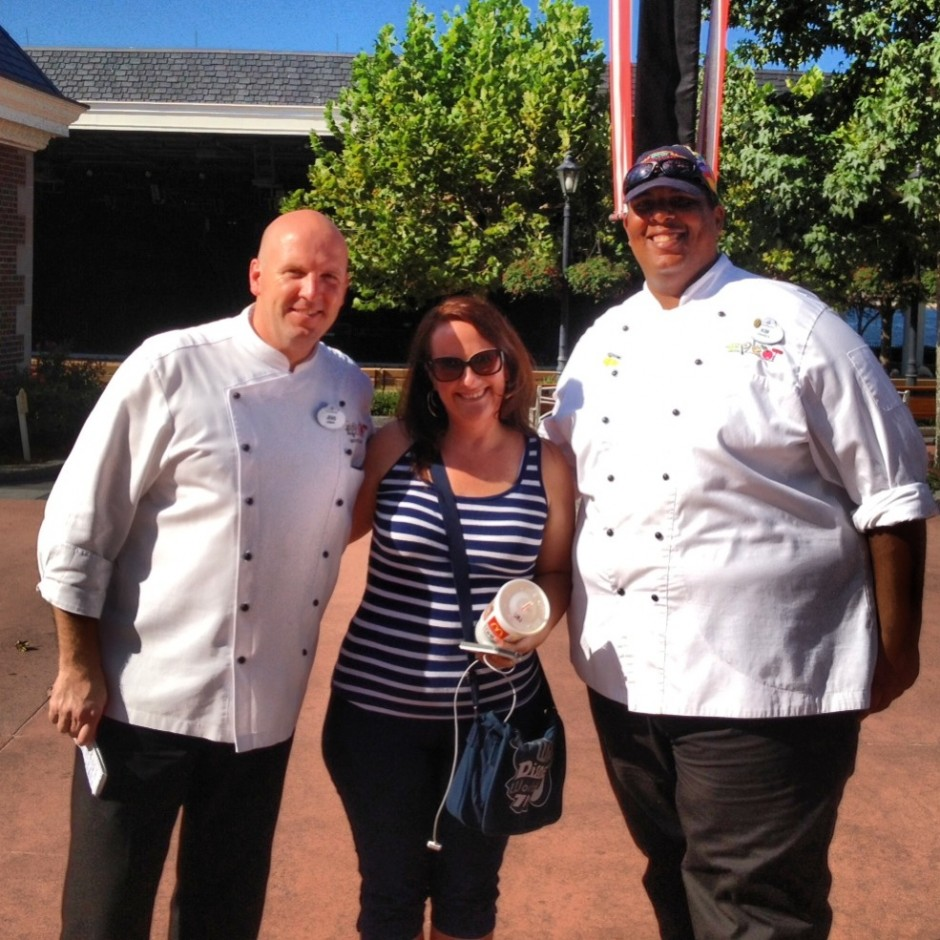 2013 Epcot International Food and Wine Festival Chef Jens Dahlmann amanda tinney chef kim