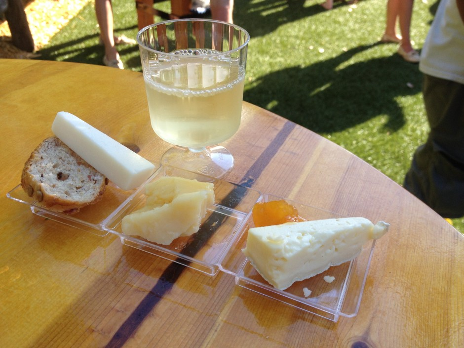 2013 Epcot International Food and Wine Festival Artisan cheese selection