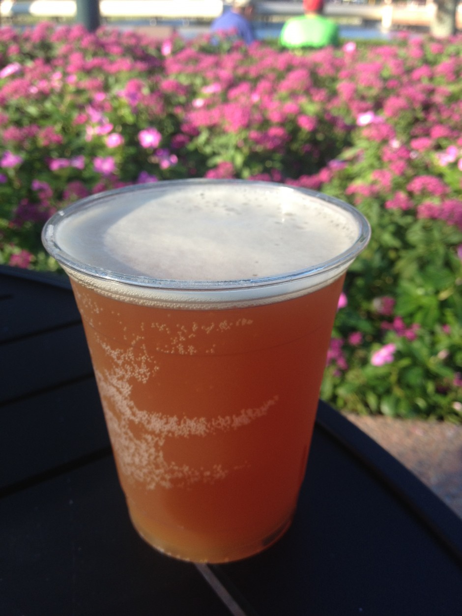 2013 Epcot International Food and Wine Festival Terra Napa Smith Organic IPA