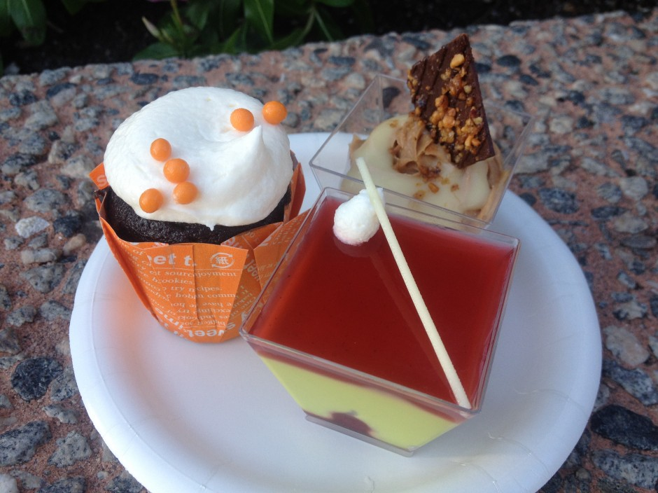 2013 Epcot International Food and Wine Festival Dessert Trio
