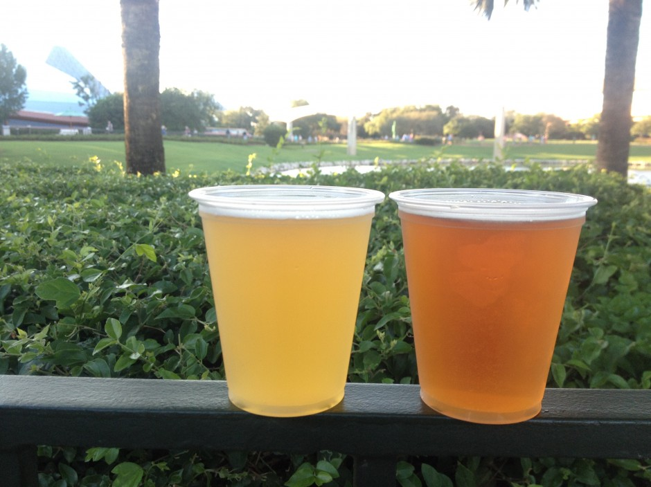 2013 Epcot International Food and Wine Festival Craft Beers