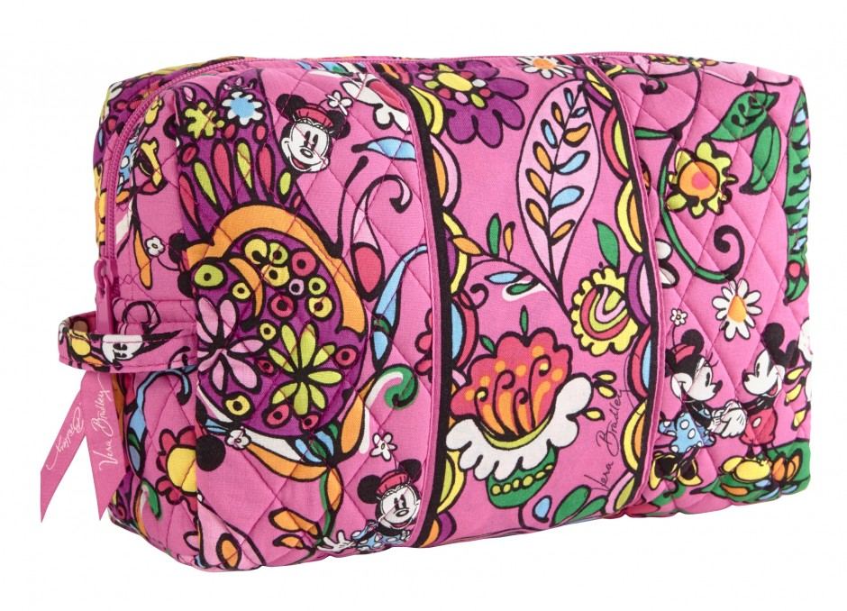 Disney Collection by Vera Bradley Just Mousing Around Large Cosmetic Case