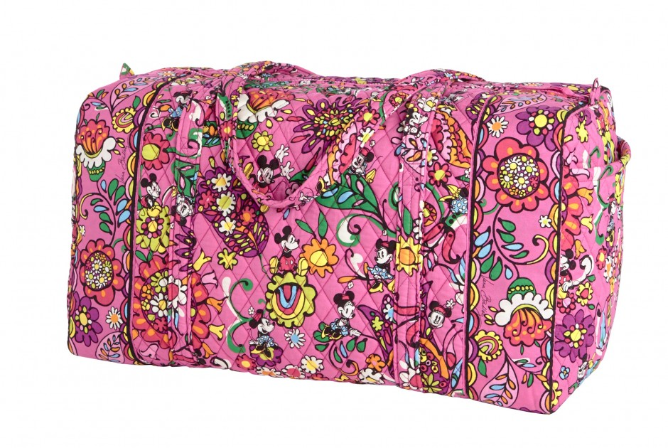 Disney Collection by Vera Bradley Just Mousing Around Large Duffle bag