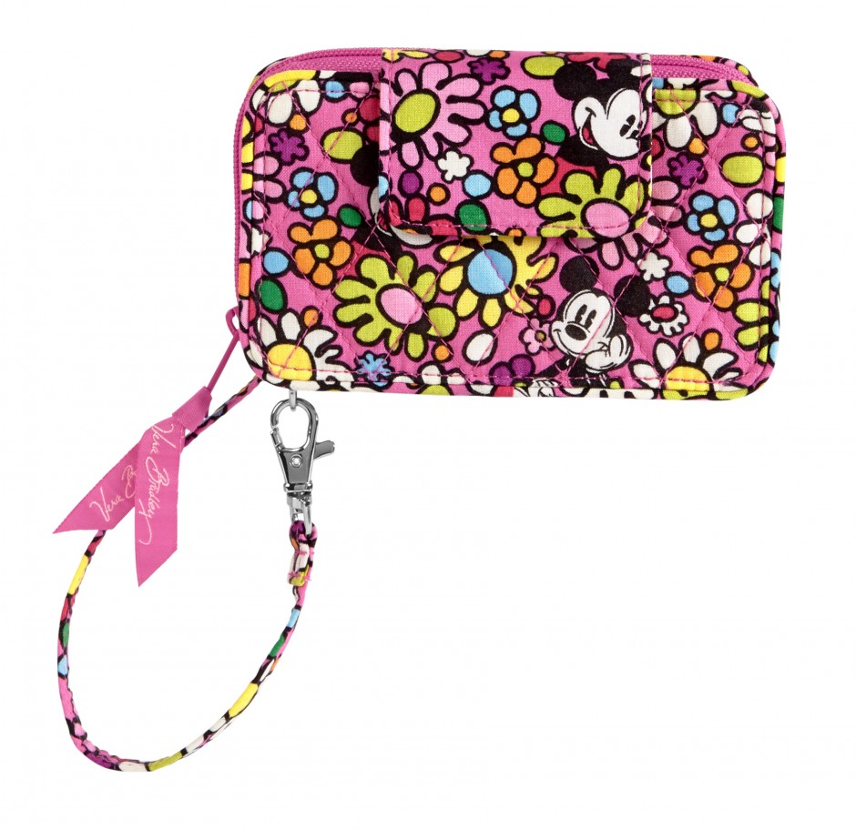Disney Collection by Vera Bradley Just Mousing Around Smartphone Wristlet Cell Phone Purse