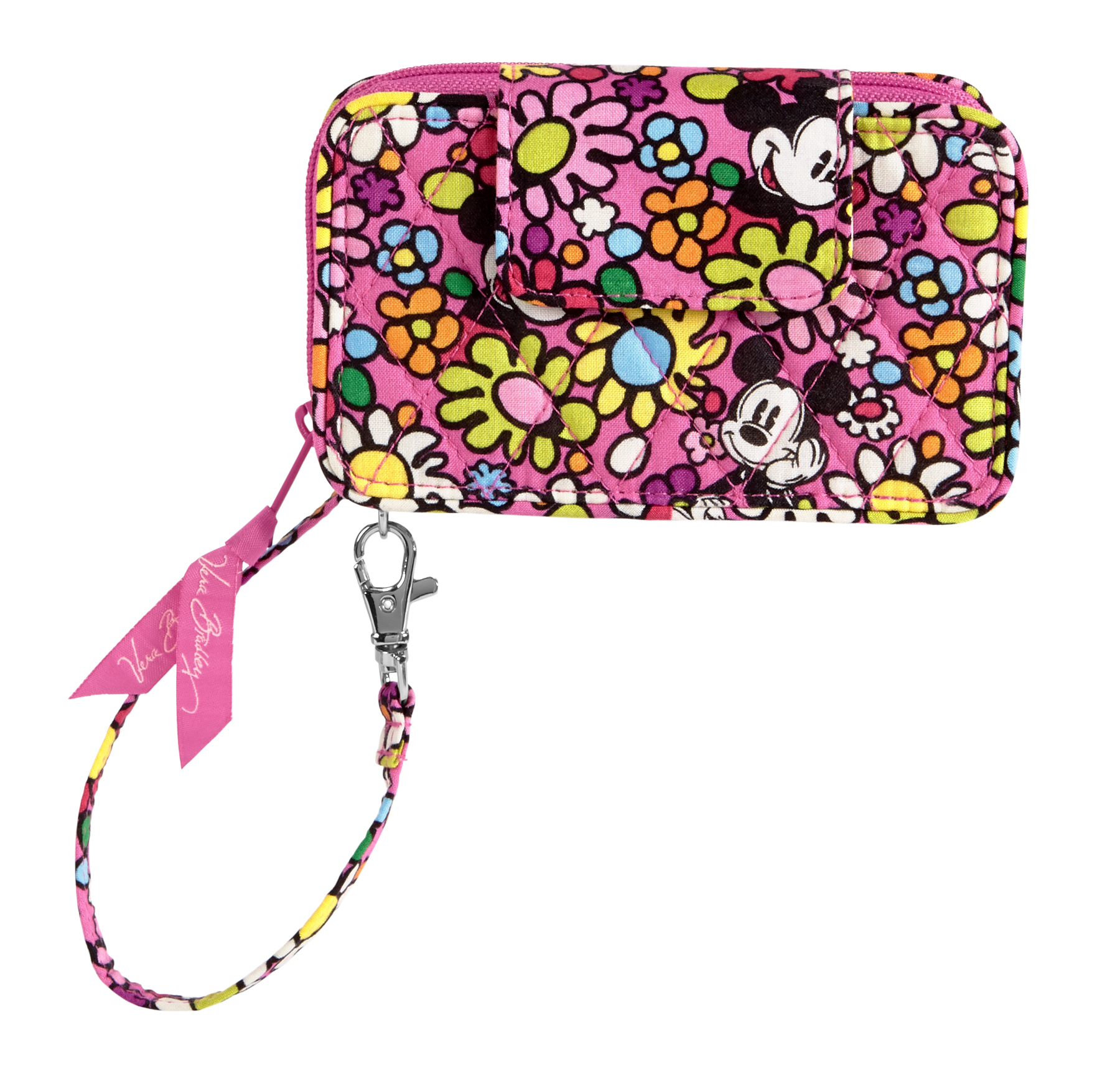 ... Vera Bradley Just Mousing Around Smartphone Wristlet Cell Phone Purse