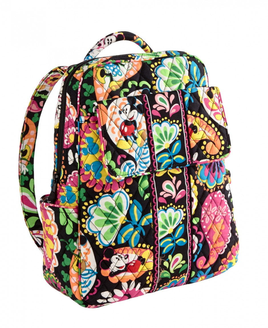 Disney Collection by Vera Bradley Midnight with Mickey Backpack