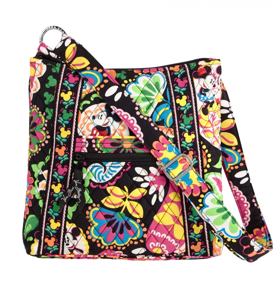 Disney Collection by Vera Bradley Midnight with Mickey Hipster Purse bag