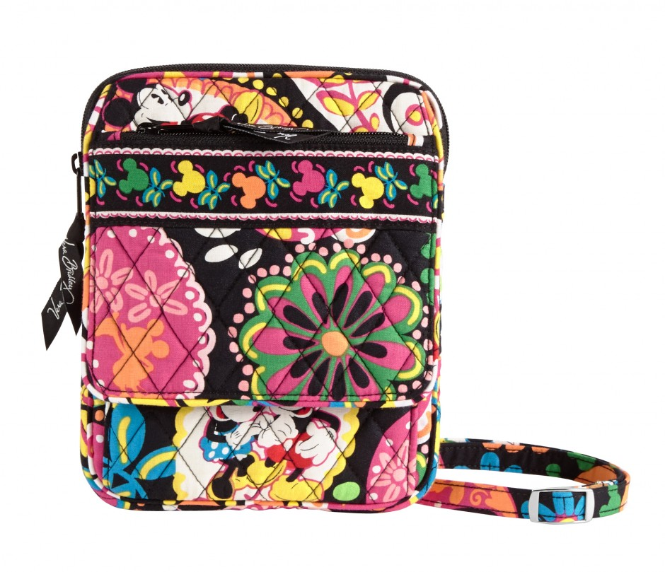 Disney Collection by Vera Bradley Midnight with Mickey Large Mini Hipster Purse bag