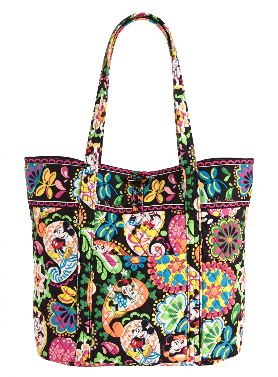 Disney Collection by Vera Bradley Midnight with Mickey Tote Bag Purse