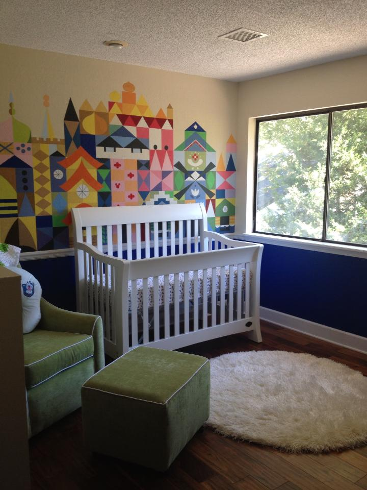 Custom It S A Small World Baby Nursery Disney Every Day
