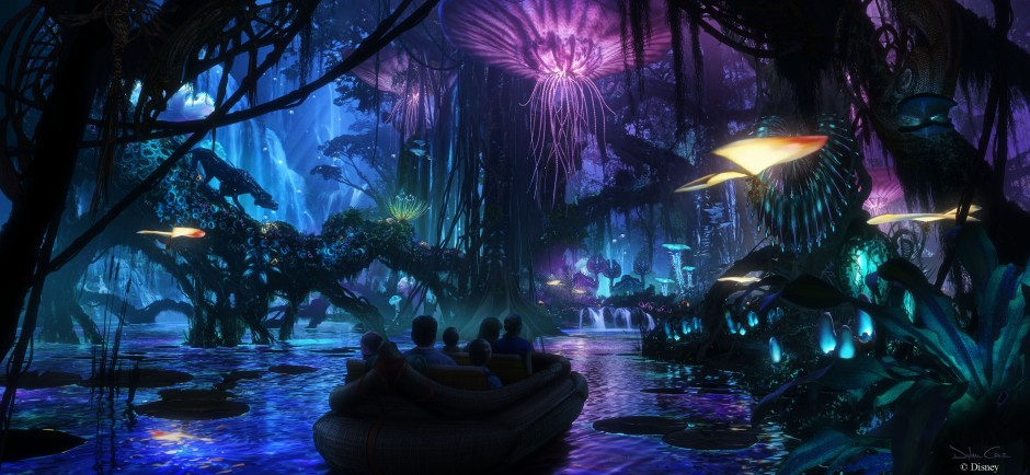 Four New Concept Art Pieces Released for Avatar Land in Disney's Animal Kingdom