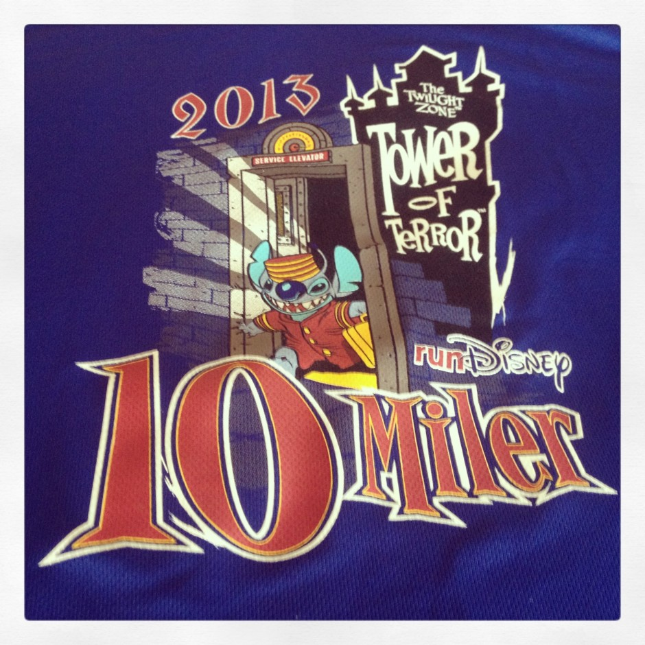 My 2013 Walt Disney World Tower of Terror 10 Miler runDisney Race Recap