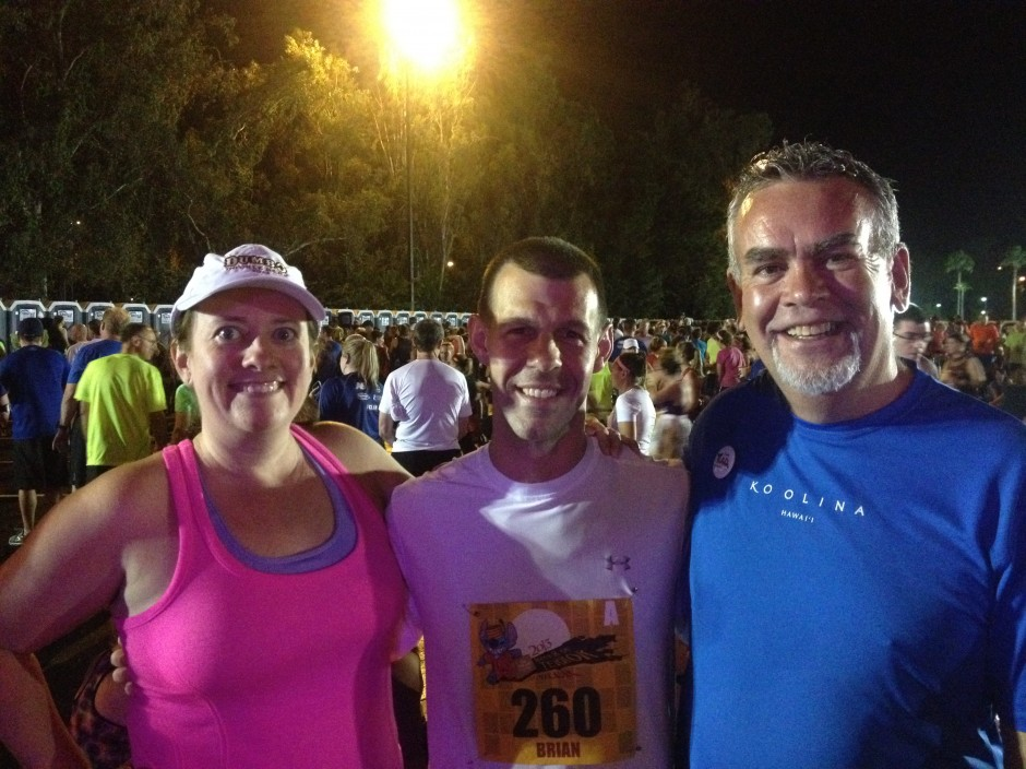 disney Chef Brian Piasecki Amanda Tinney Rick Howard 2013 rundisney twilight zone tower of terror 10 miler