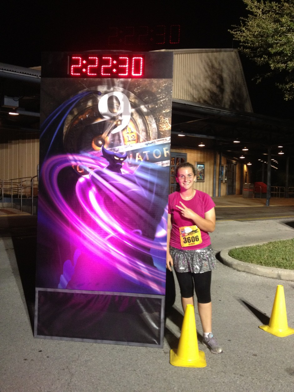 2013 runDisney tower of terror 10 miler disney race hollywood studios