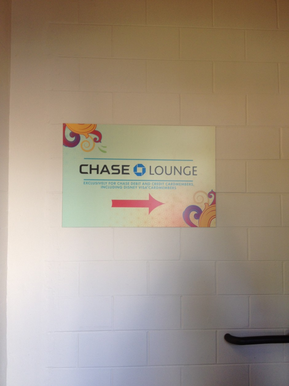 Chase Lounge 2013 walt disney world international food and wine festival american adventure