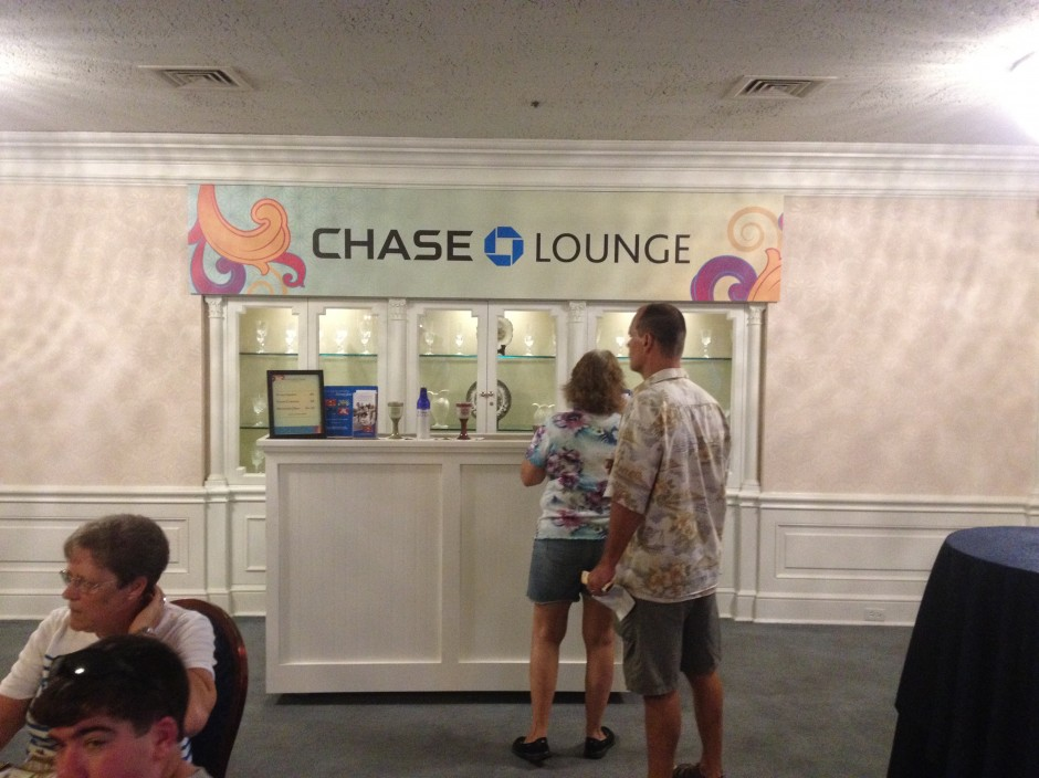 Chase Lounge 2013 walt disney world international food and wine festival american adventure bar