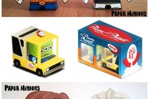 Disney & Pixar Paper Toy Templates You Can Download for Free