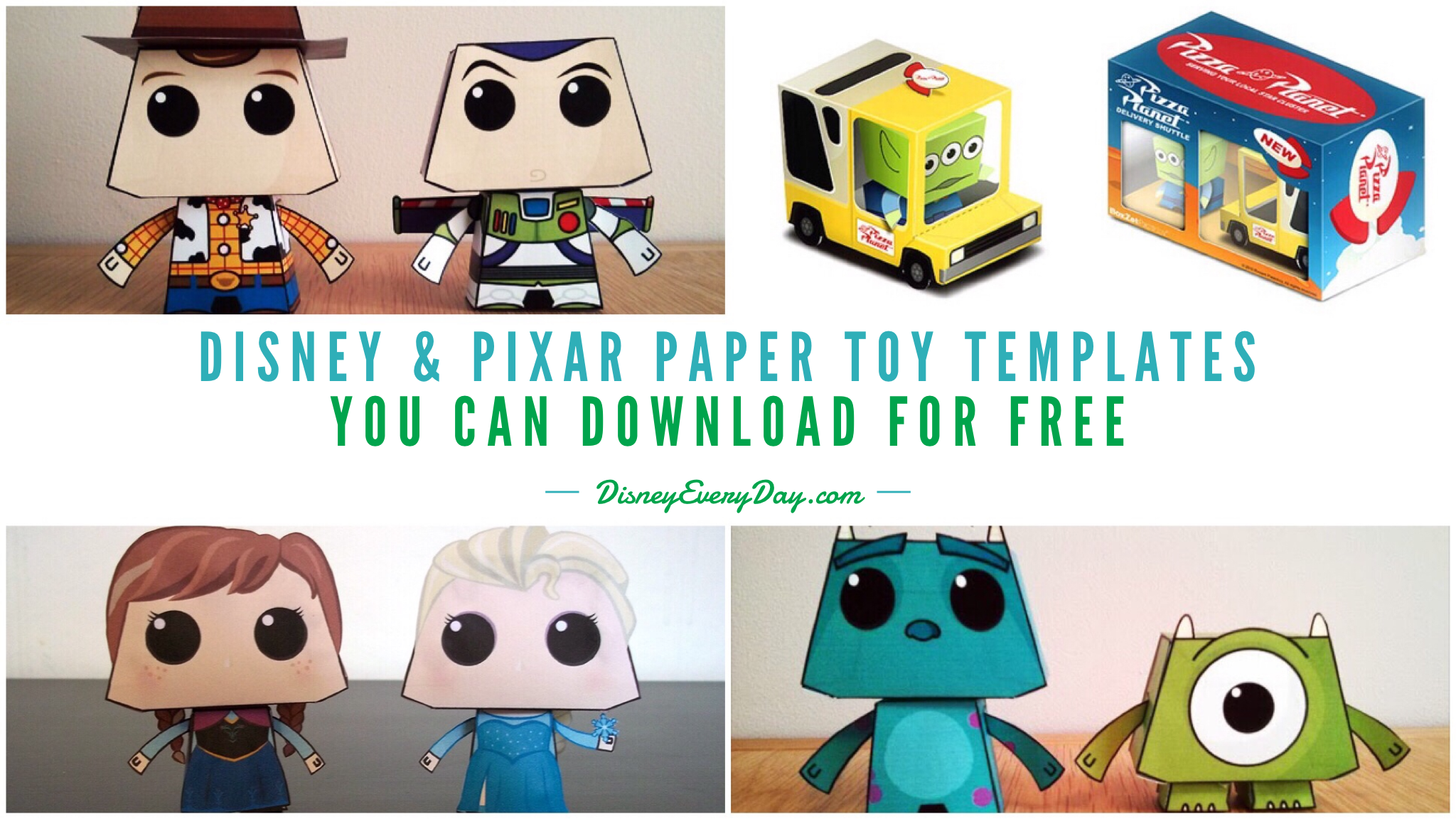 Disney Paper Toys You Can Download For Free Disney Every Day