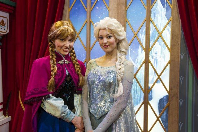 "Where in Walt Disney World Can I Meet Anna and Elsa from ""Frozen""?"