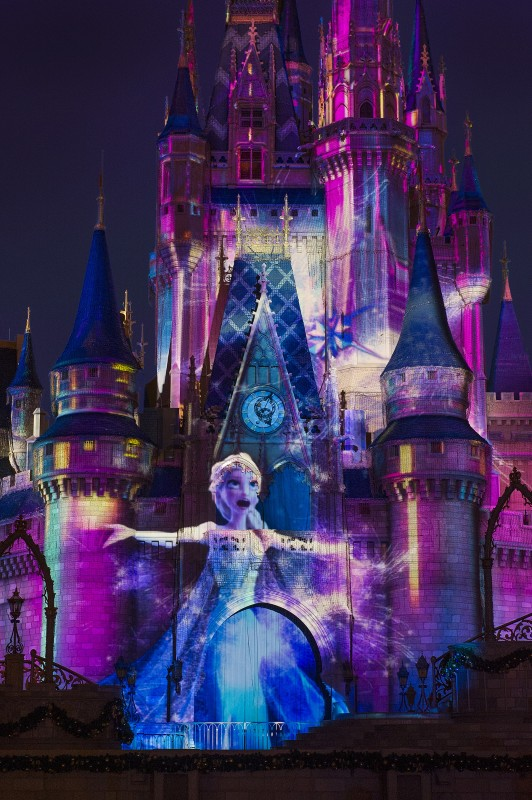 Celebrate the Magic Frozen Disney Magic Kingdom Cinderella Castle