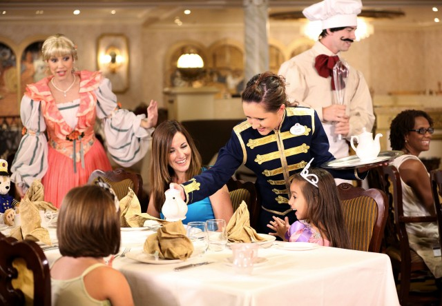 Disney Cruise Line Royal Tea Experience