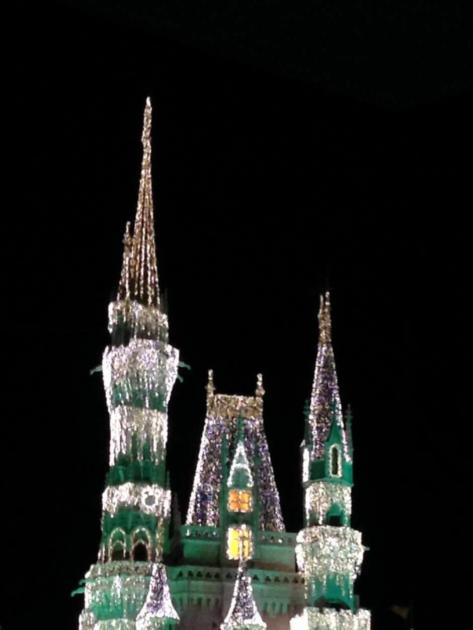 Cinderella Castle Pin disney magic Kingdom dream lights christmas