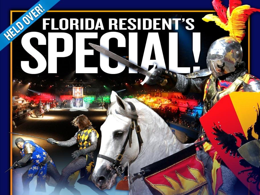 Medieval Times Orlando Florida Resident Rate