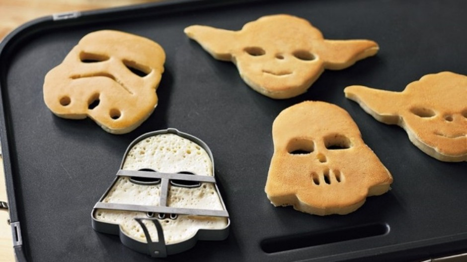Star Wars Heroes and Villains Pancake Molds