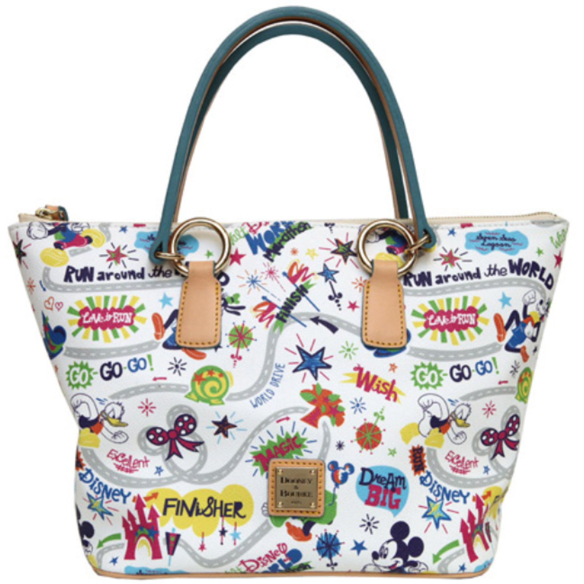 2017 Rundisney Disney Dooney Bourke Purse Bag Tote Run Marathon