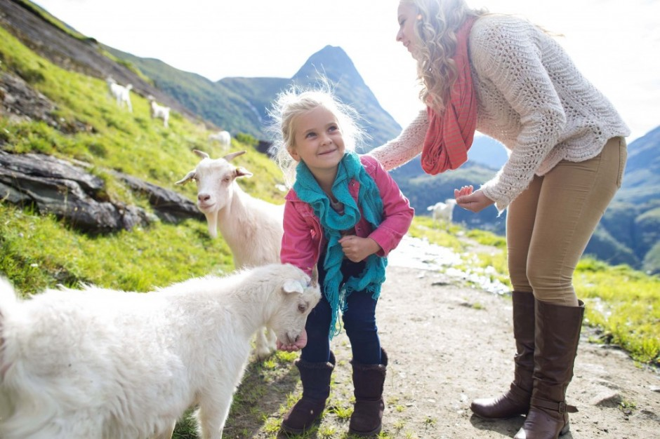 adventures by disney norway goat farm