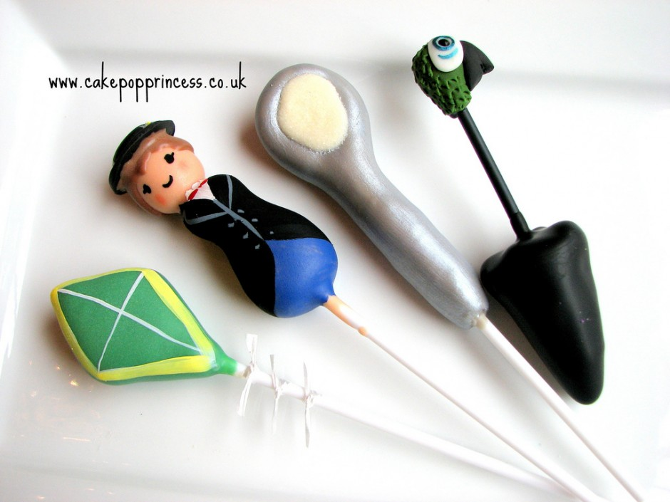 Disney Mary Poppins Cake Pops
