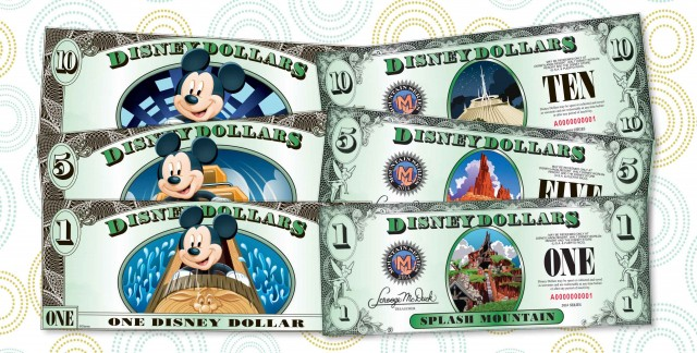 Have You Seen the New Disney Dollar Designs?
