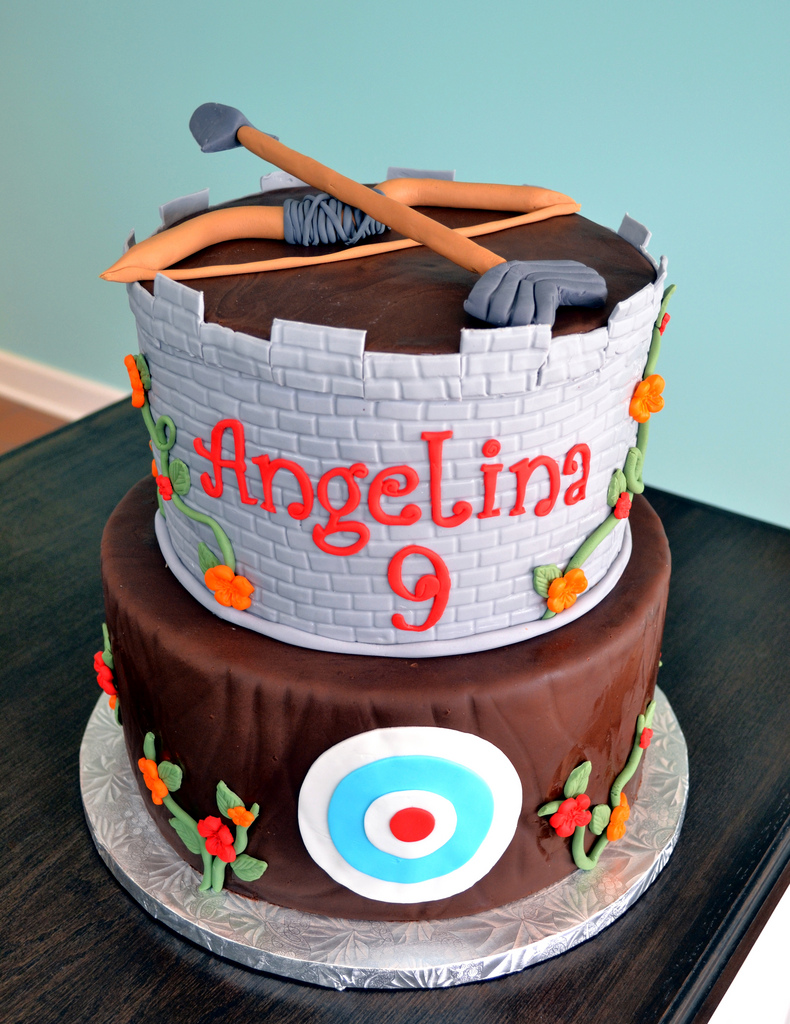 Disney Pixar Brave Archery Birthday Cake