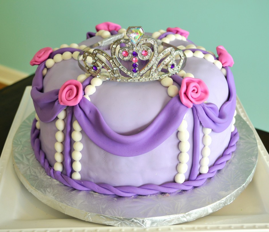 Disney Princess Sophia the First Birthday Cake