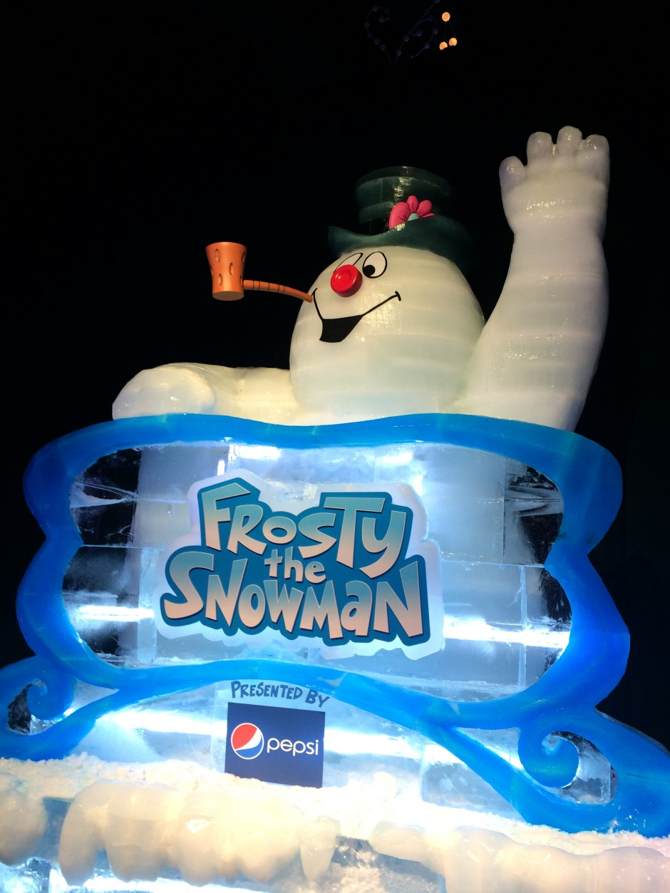 2013 ICE Gaylord Palms Frosty the Snowman
