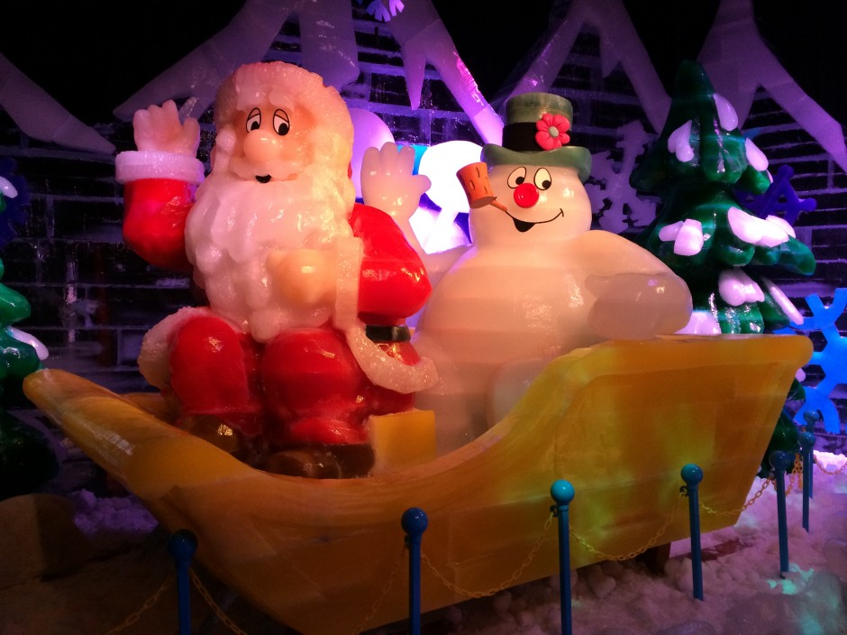 2013 Gaylord palms ICE featuring frosty the snowman