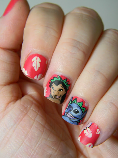 Lilo and Stitch Disney Manicure
