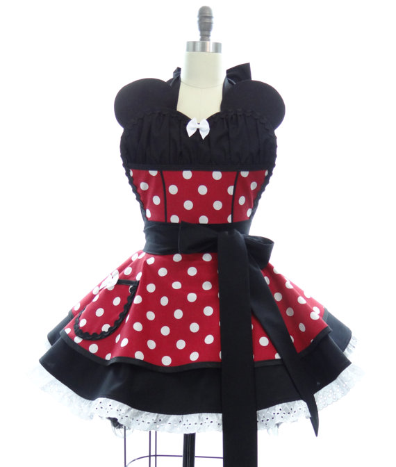Sexy Minnie Mouse Disney Apron
