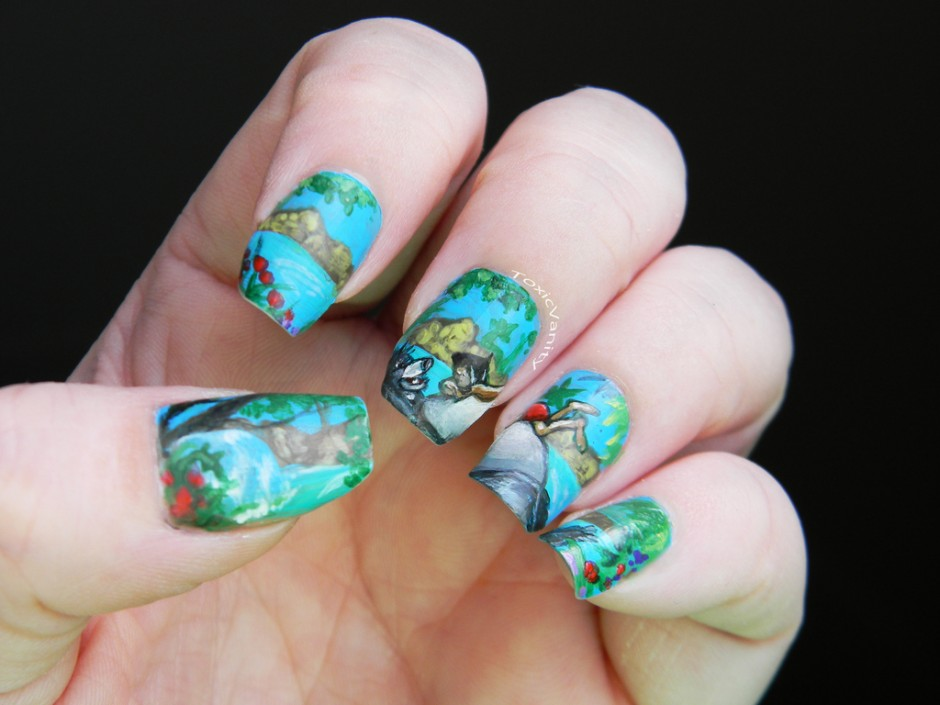 The Jungle Book Disney Manicure
