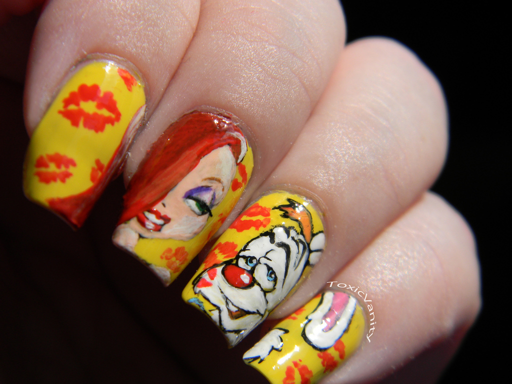 Who Framed Roger Rabbit Disney Manicure | Disney Every Day