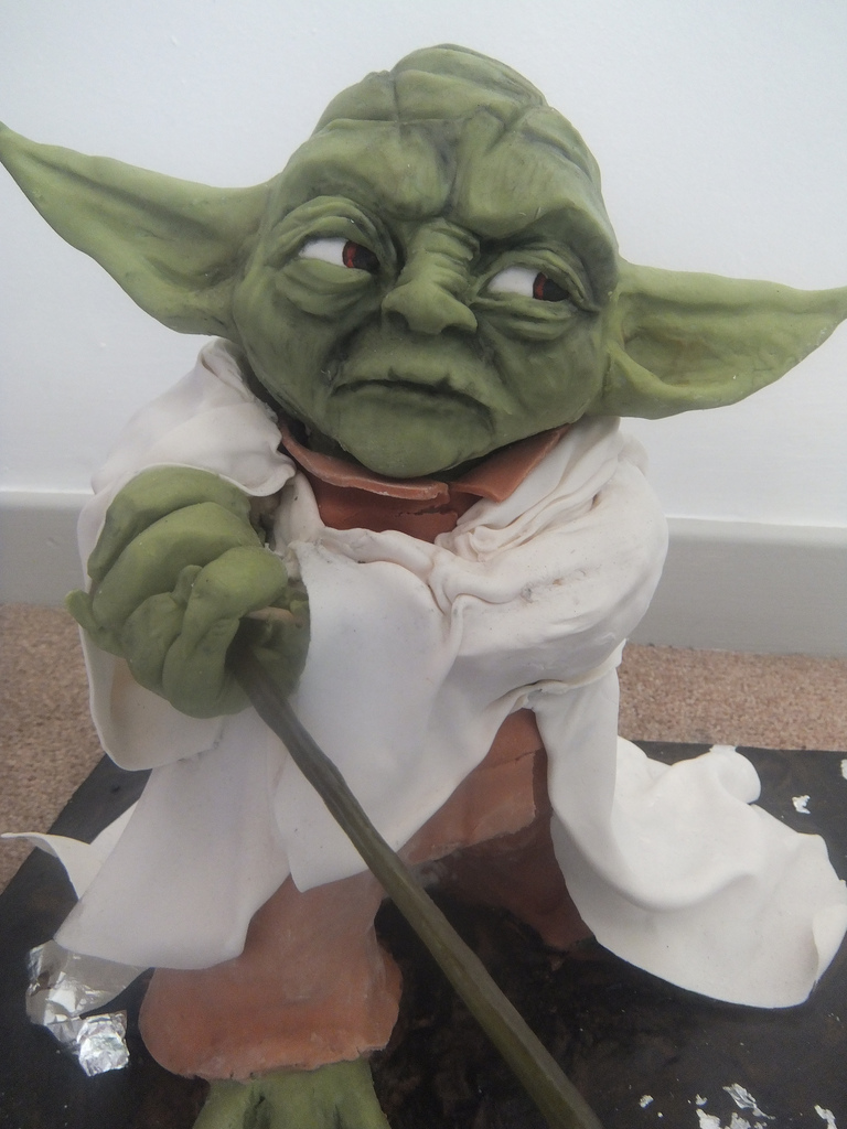 The Best Star Wars Yoda Cake
