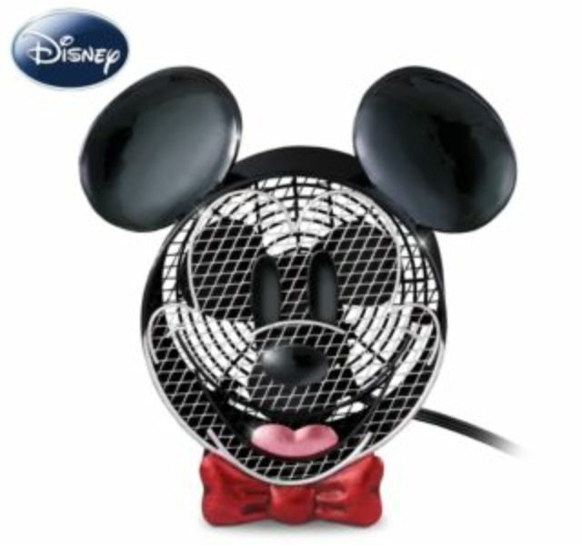 Mickey Mouse Electric Tabletop Disney Fan