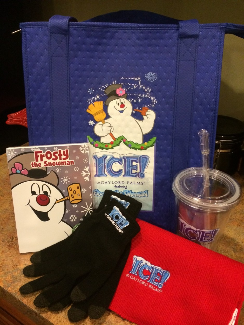 ICE! Featuring Frosty the Snowman Prize Pack gaylord palms