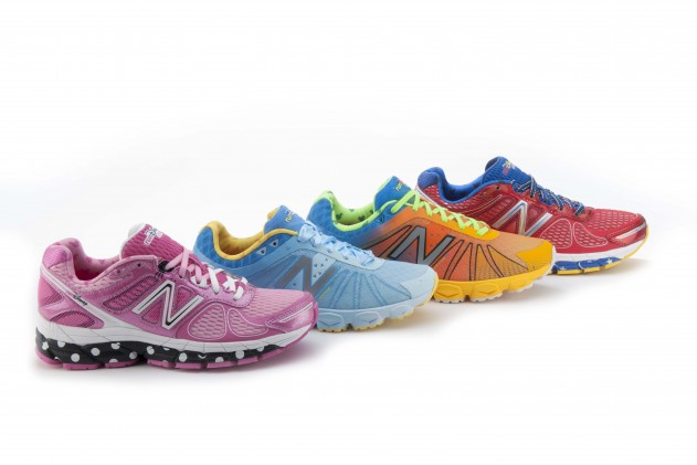 Close Up Look at the Goofy, Cinderella, Minnie and Sorcerer Mickey 2014 New Balance runDisney Shoes