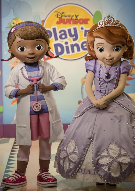 Doc Mcstuffins And Sofia The First Join Disney Junior Play