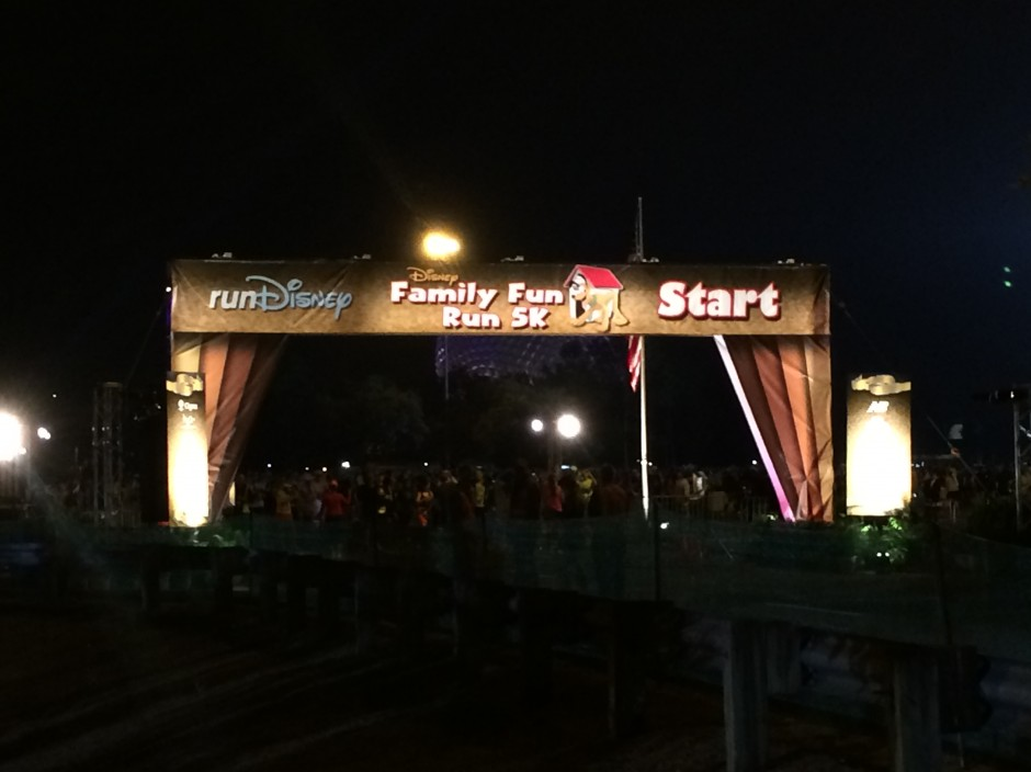 Inaugural 2014 Dopey Challenge Part 1 – Disney Family Fun Run 5K Race Recap