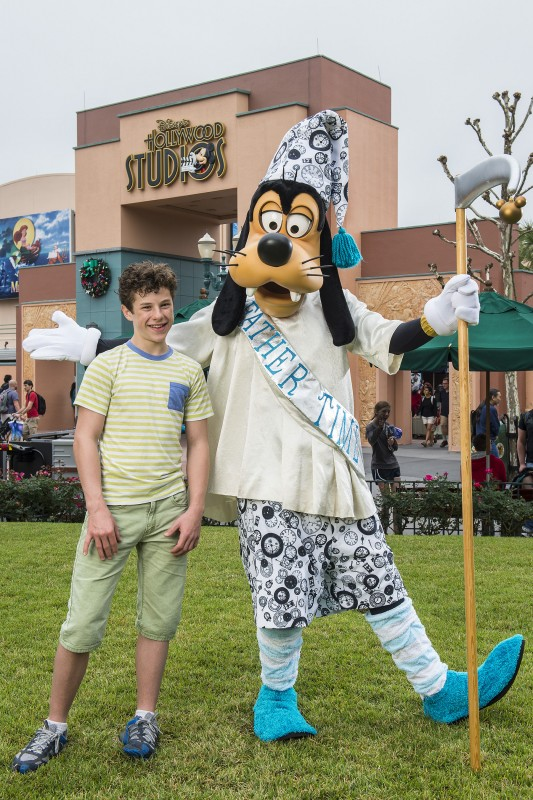 "Nolan Gould from ABC's ""Modern Family"" Visits Walt Disney World"