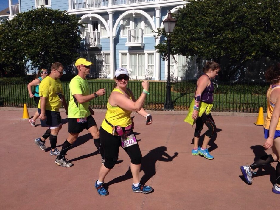 2014 runDisney walt disney world marathon amanda tinney boardwalk