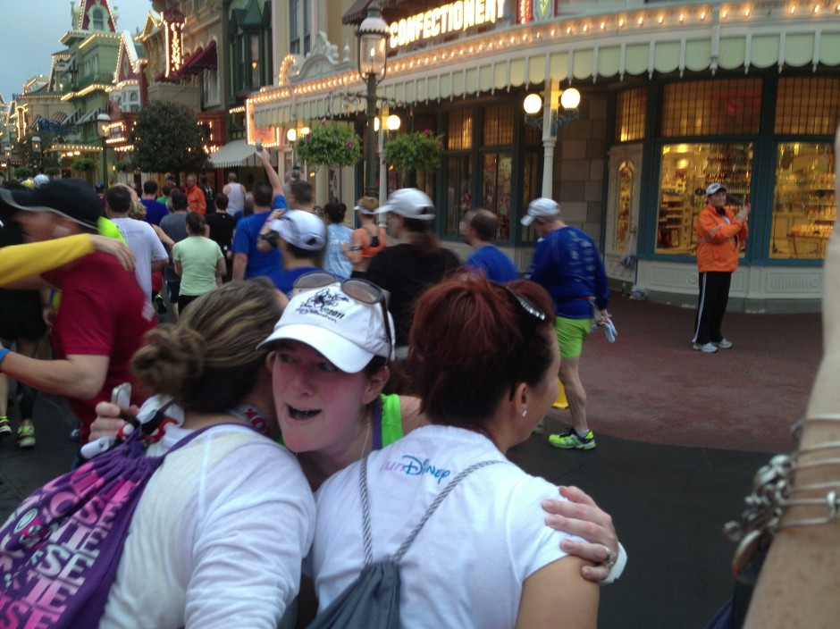 2014 rundisney dopey challenge walt disney world half marathon magic kingdom amanda tinney